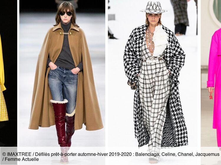 Les tendances mode automne hiver 2019 2020 : Femme Actuelle