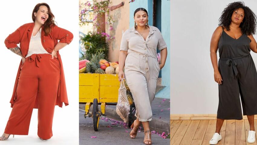 Mode ronde : 20 looks grande taille stylés pour le printemps-été 2019