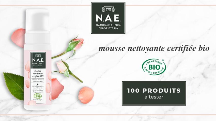Testez la Mousse Nettoyante certifiée BIO de N.A.E