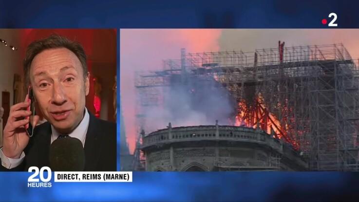 Notre-Dame de Paris en feu : Stéphane Bern au bord des larmes