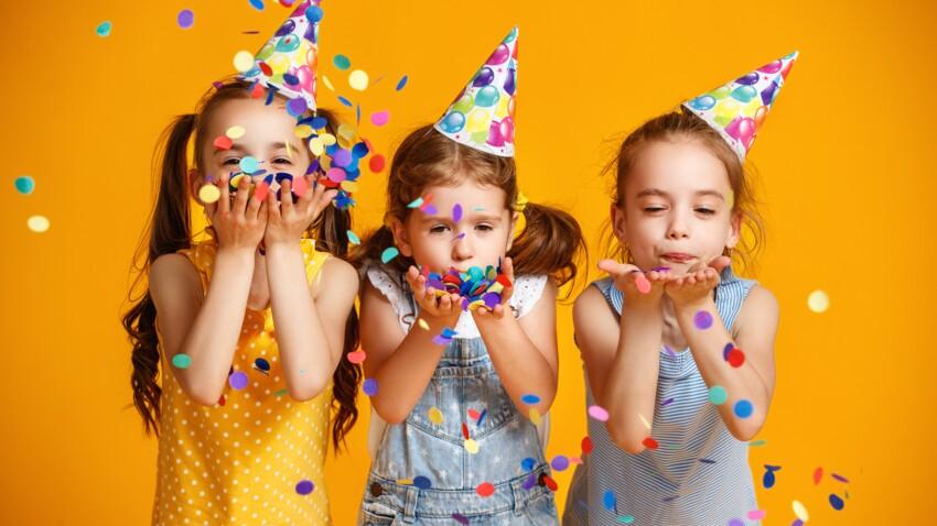 Fête d'anniversaire : comment organiser un goûter réussi avec trois fois  rien ? : Femme Actuelle Le MAG