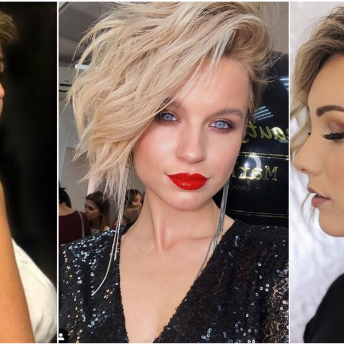 Mariage 2019 15 Idees De Coiffures Pour Cheveux Courts Femme Actuelle Le Mag