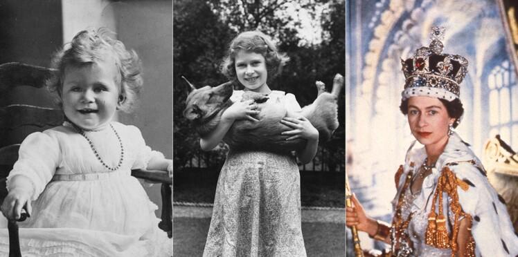 Photos - La reine Elizabeth II fête ses 93 ans : retour en image avec des photos rares et intimes de sa jeunesse