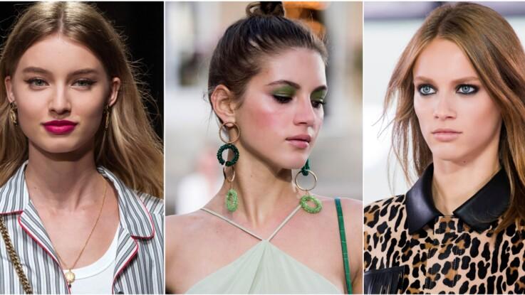 Lèvres framboise, regard ultra-noir, fard vert prairie... 3 idées de make-up faciles et tendances pour le printemps