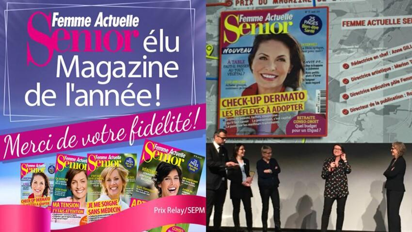Femme Actuelle Senior, magazine de l'année !