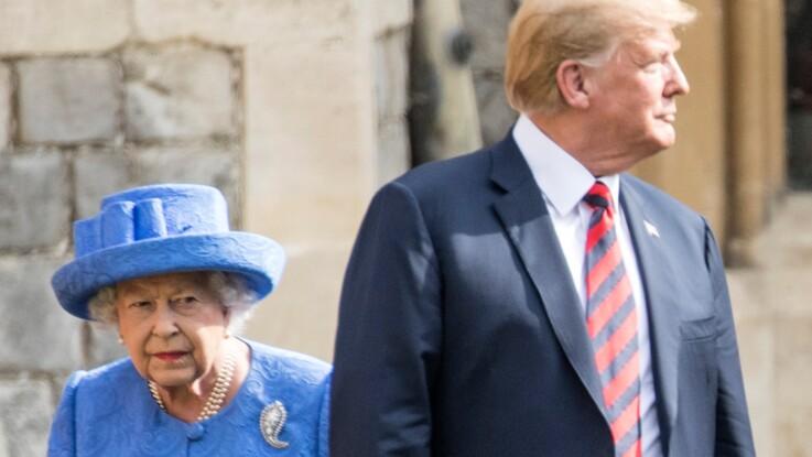 Donald Trump : cette erreur de langage qui ne passe pas auprès de la reine Elizabeth II