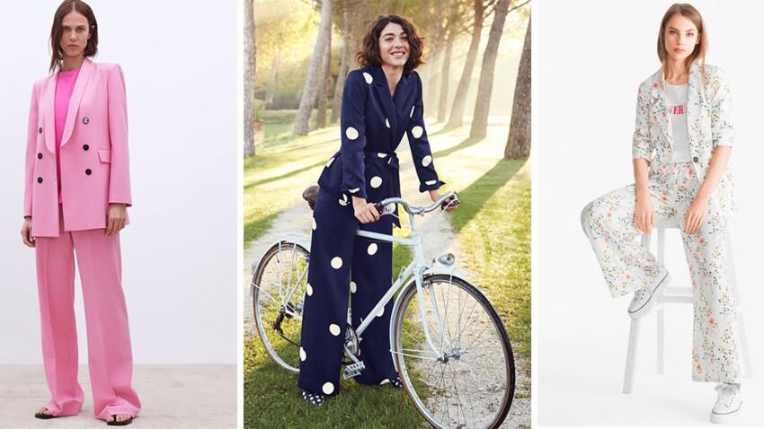 Costume et tailleur pantalon, ou l'ensemble star printemps-été 2019 (so chic !)