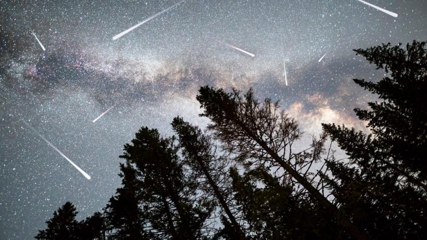 Pluie d'étoiles filantes à admirer ce soir : regardez au Nord et au Sud-Ouest !