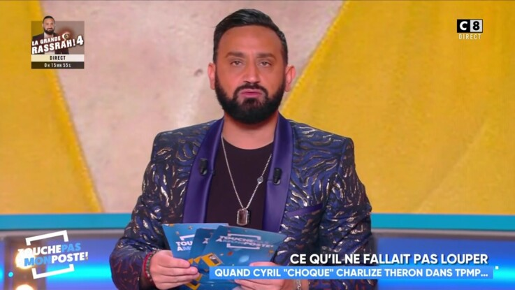 Cyril Hanouna recadré par Charlize Théron : très agacé, il s'explique dans TPMP