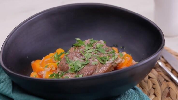 La recette facile et rapide du navarin d'agneau aux carottes