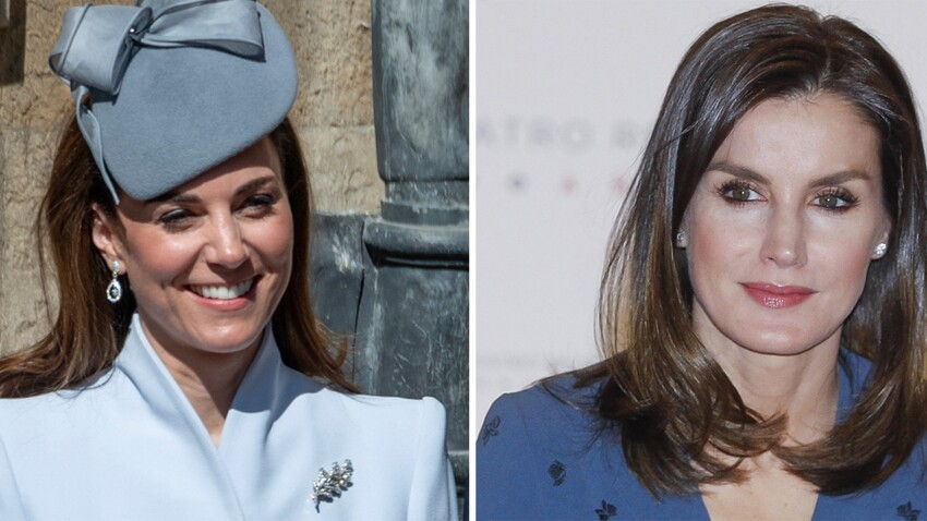 Kate Middleton contre Letizia d'Espagne : qui porte le mieux le total look bleu ?