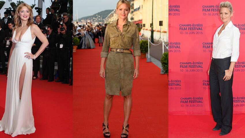 Virginie Efira : de jeune présentatrice à actrice glamour, son évolution mode en 55 photos