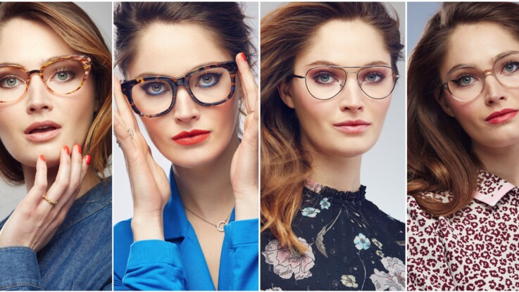 4d3786d570 Comment bien se maquiller quand on porte des lunettes : Femme ...