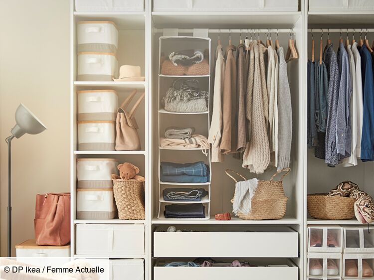 Aménager Un Dressing Nos Conseils Femme Actuelle Le Mag