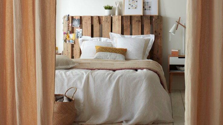 Recyclage : 3 pistes pour fabriquer sa tête de lit