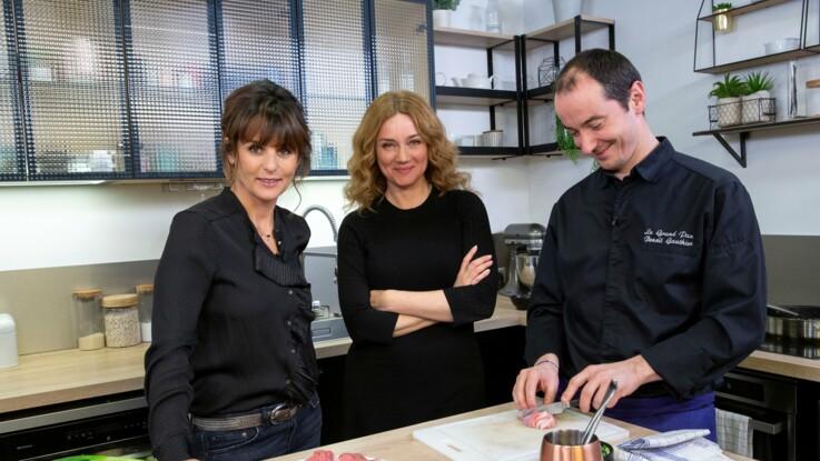 EXCLU vidéo - Marine Delterme (Alice Nevers) se confie sur les scènes d'amour compliquées à tourner avec Jean-Michel Tinivelli