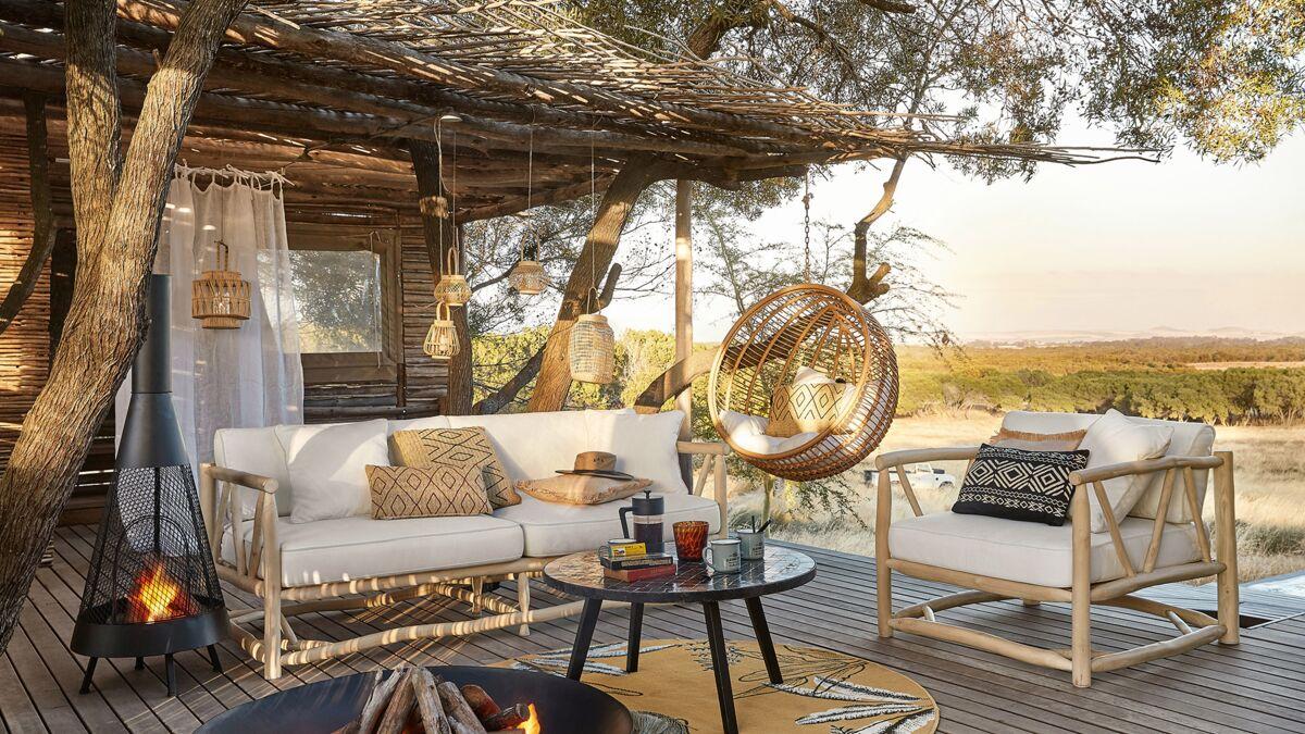 Le meuble de jardin ikea crée des espaces jolis et