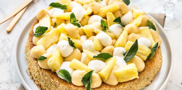 Fantastik à l'ananas et coco crémeux mangue