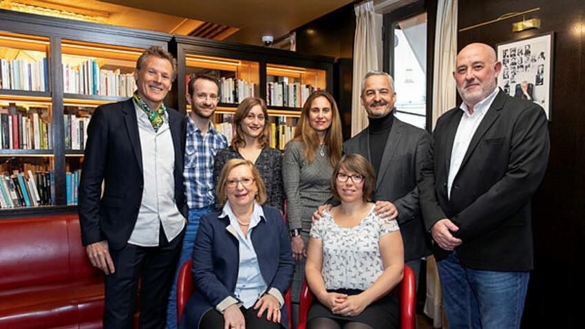 Prix du roman 2019: Bravo à nos quatre lauréats !