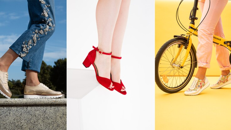 21fa5d26a1c6b Pieds sensibles : quelles chaussures pour rester tendance ? : Femme ...