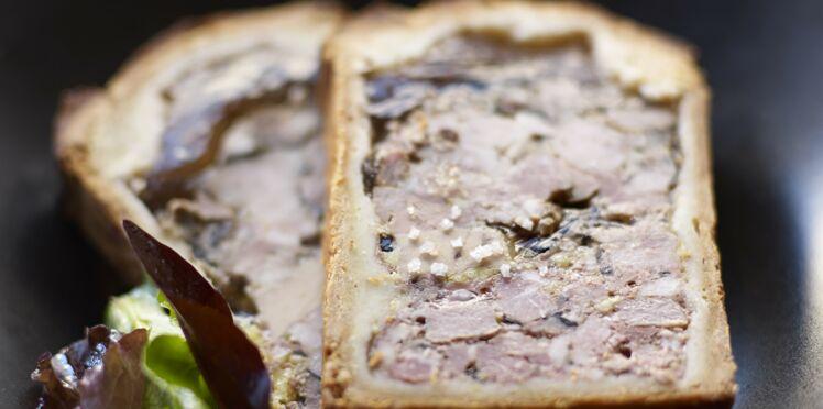 Pâté de chevreuil en croûte