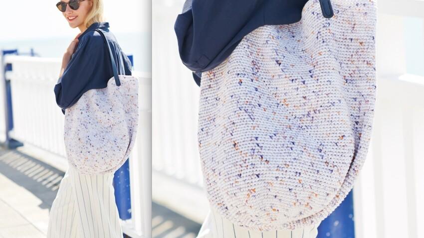 Tuto facile : un sac cabas au crochet pour débutant