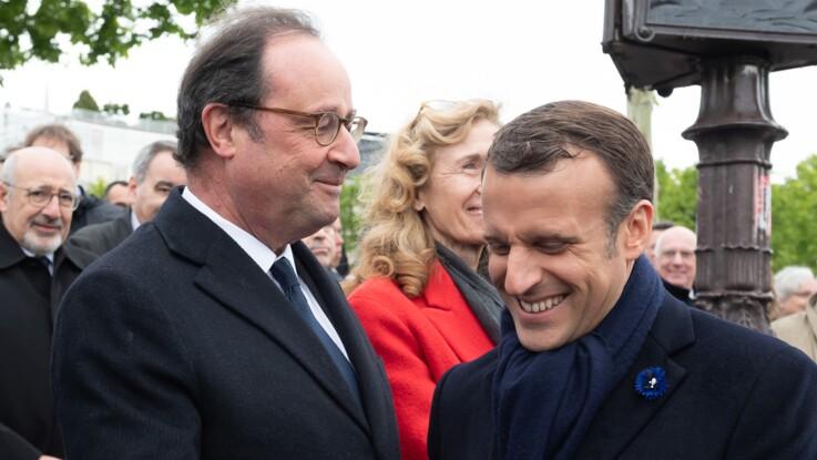 """PHOTO - """"Goujat"""", """"cuistre"""", """"mufle""""... François Hollande se fait dézinguer pour son manque de galanterie lors des commémorations"""