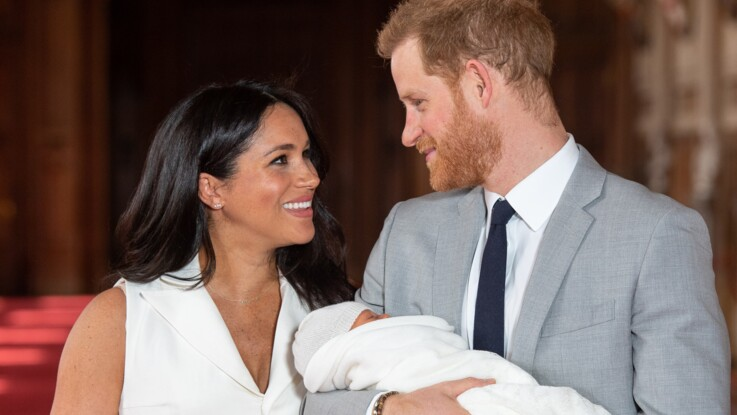 Photos - Naissance du royal baby : comment Harry et Meghan se différencie de Kate et William