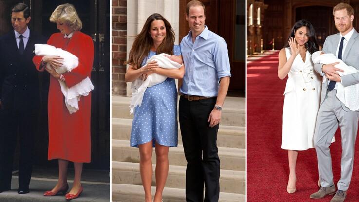 Meghan Markle chic et rayonnante pour présenter son bébé : comment elle s'est différenciée de Kate Middleton et Lady Di ? Retour en images !