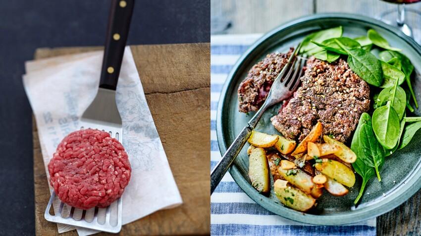 Comment réussir la cuisson d'un steak haché