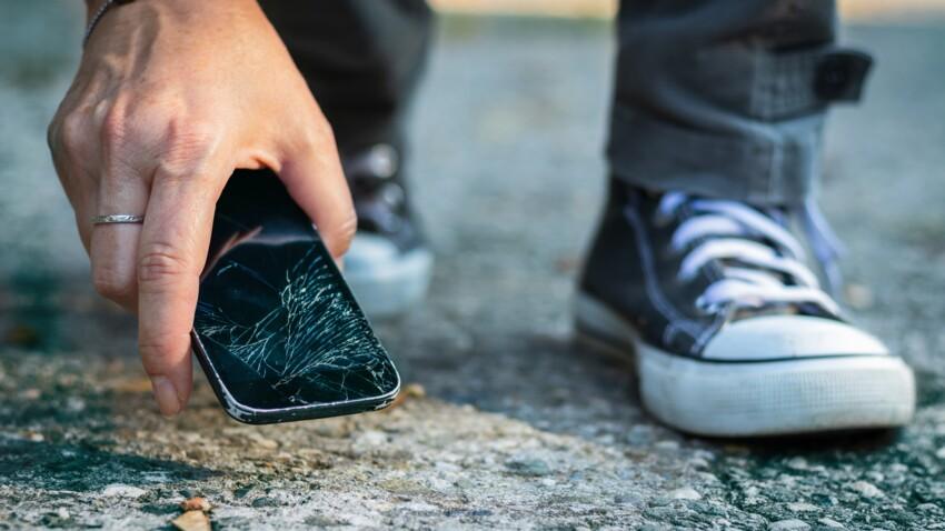 Au secours, j'ai cassé l'écran de mon smartphone