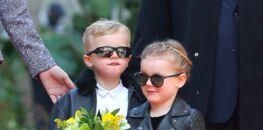 e8b486d84b Photos - Jacques et Gabriella, les jumeaux de Charlène de Monaco, adorables  habillés comme