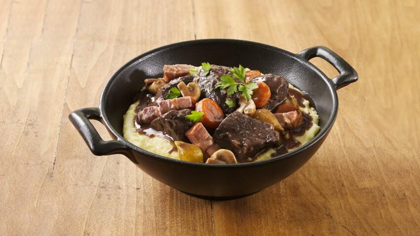 Pâtes, purée, riz… Toutes nos idées d'accompagnement pour un bœuf bourguignon