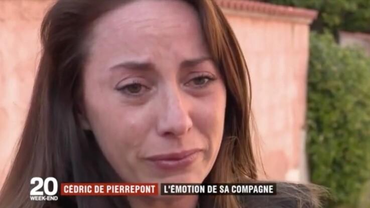 Vidéo - Commando français tué : en larmes, la compagne de Cédric de Pierrepont lui rend hommage