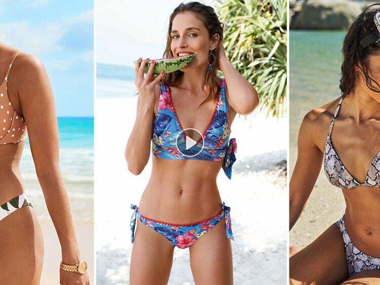 da0d6bd883 Maillots de bain deux-pièces printemps-été 2019 : top des modèles les plus  canons pour profiter du soleil avec style ! : Femme Actuelle Le MAG