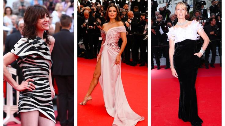 Photos- Eva Longoria, Charlotte Gainsbourg, Estelle Lefébure... une première montée des marches tout en élégance !
