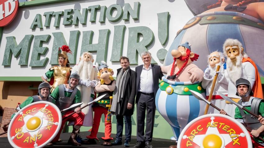 Pour fêter ses 30 ans, le Parc Astérix inaugure une nouvelle attraction