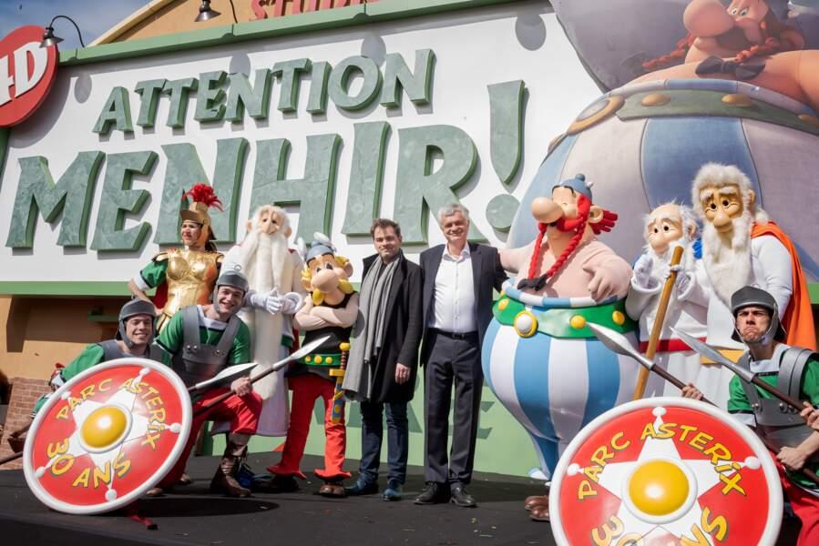 Le Parc Astérix fête ses 30 ans