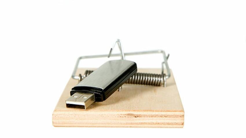 Arnaque à la clé USB : attention, elle revient !