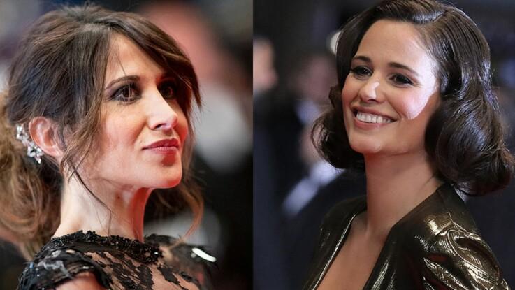 Photos – Fabienne Carat (Plus belle la vie), nue sous sa robe, et Lucie Lucas (Clem), sans soutien-gorge, jouent les pin-ups à Cannes