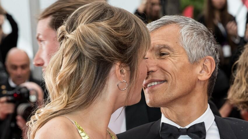 PHOTOS - Nagui et son épouse Mélanie Page s'échangent un tendre baiser sur le tapis rouge du Festival de Cannes