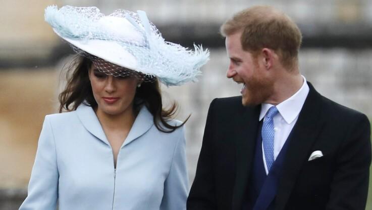 Meghan Markle absente au mariage de Gabriella Windsor : qui est celle qui accompagnait Harry ?