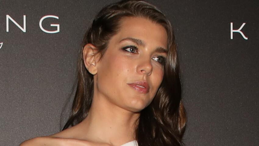 Photos - Charlotte Casiraghi divine en robe blanche, à la même soirée que son ex Gad Elmaleh