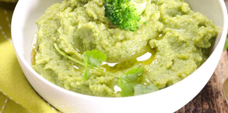 Purée de brocolis facile et rapide