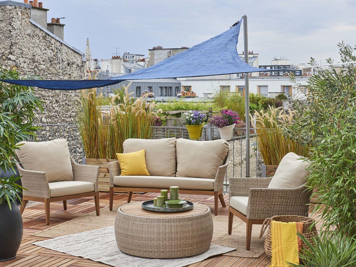Aménager Son Balcon Avec Des Palettes 13 conseils pour aménager et décorer sa terrasse : femme