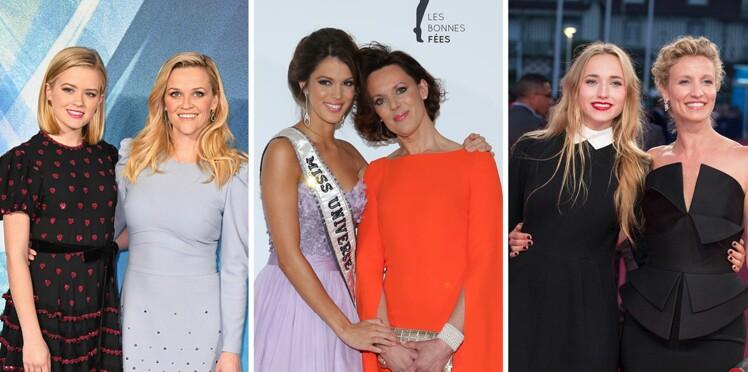 Photos -Mères et filles célèbres : leur ressemblance frappante en images !