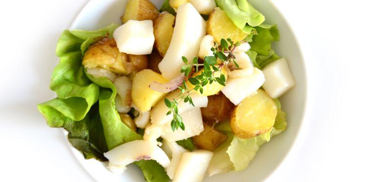 Seiche en salade et pommes de terre de l'île de Ré
