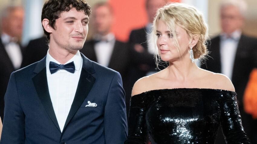 Virginie Efira : tendres baisers avec Niels Schneider, son compagnon, sur le tapis rouge de Cannes