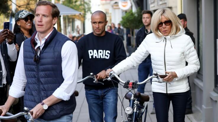 Photos - Brigitte Macron au Touquet : son très sexy garde du corps fait sensation