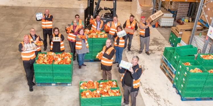 L'association du mois : avec les gilets orange, rien ne se perd !